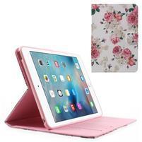 Štýlové puzdro pre iPad mini 4 - kvetiny