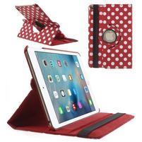 Cyrc otočné puzdro pre iPad mini 4 - červené