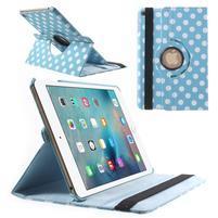 Cyrc otočné pouzdro na iPad mini 4 - světle modré