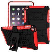 Outdoor odolný obal pre tablet iPad mini 4 - červený