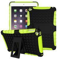 Outdoor odolný obal pre tablet iPad mini 4 - zelený
