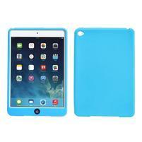 silikónové puzdro pre tablet iPad mini 4 - svetlomodré