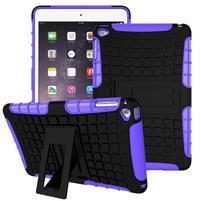 Outdoor odolný obal pre tablet iPad mini 4 - fialový