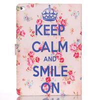 Knížkové puzdro pre tablet iPad mini 4 - Keep Calm