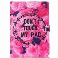 Knížkové puzdro pre tablet iPad mini 4 - nedotýkať sa