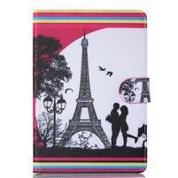 Knížkové pouzdro na tablet iPad mini 4 - Eiffelova věž
