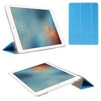 Trifold polohovateľné puzdro pre tablet iPad Pro 9.7 - modré