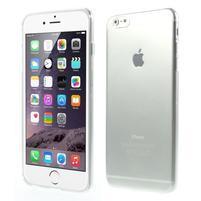 Ultra slim lesklý gélový obal na iPhone 6 Plus a 6s Plus - transparentný