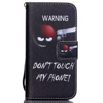 Peňaženkové puzdro pre mobil iPhone SE / 5s / 5 - nesiaha