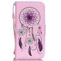 Peňaženkové puzdro pre mobil iPhone SE / 5s / 5 - dream