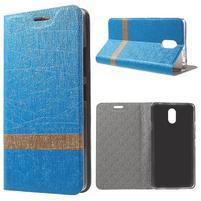 Klopové puzdro pre mobil Lenovo Vibe P1m - svetlo modré