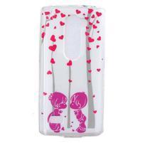 Jelly gélový obal pre mobil LG Leon - láska