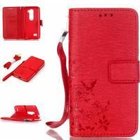 Magicfly puzdro pre mobil LG Leon - červené