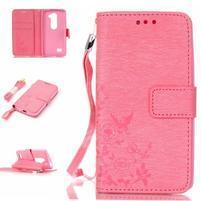 Magicfly puzdro pre mobil LG Leon - rose