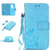 Magicfly puzdro pre mobil LG Leon - modré