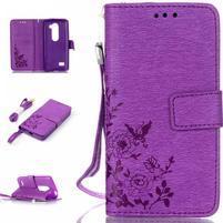 Magicfly puzdro pre mobil LG Leon - fialové