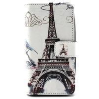 Style peňaženkové puzdro pre LG Leon - Eiffelova veža