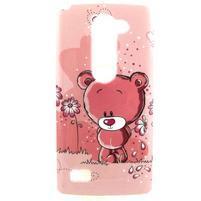 Pictu gélový obal pre LG Leon - medvedík