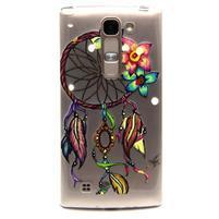 Transparentný gélový kryt pre mobil LG Spirit - snívanie