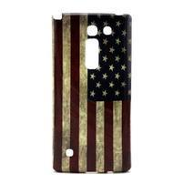 Gélový kryt pre mobil LG Spirit - US vlajka