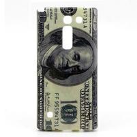 Gélový kryt na mobil LG Spirit - bankovka