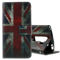 Peňaženkové puzdro na LG Spirit - vlajka UK