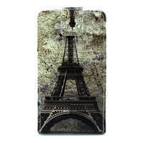 Flipové puzdro na Huawe Ascend P7 - Eiffelova veža