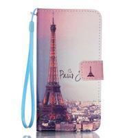 Pictu pouzdro na mobil Samsung Galaxy A3 (2016) - Eiffelova věž