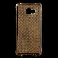Diamonds gélový obal pre Samsung Galaxy A3 (2016) - zlatý