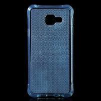 Diamonds gélový obal pre Samsung Galaxy A3 (2016) - modrý