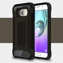 Extreme outdoor kryt 2v1 pre mobil Samsung Galaxy A3 (2016) - čierný