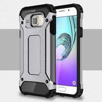 Extreme outdoor kryt 2v1 pre mobil Samsung Galaxy A3 (2016) - šedý