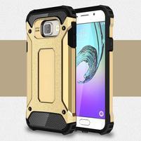 Extreme outdoor kryt 2v1 pre mobil Samsung Galaxy A3 (2016) - zlatý