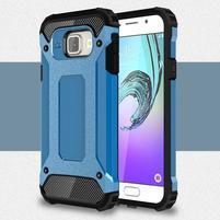 Extreme outdoor kryt 2v1 pre mobil Samsung Galaxy A3 (2016) - svetlomodrý