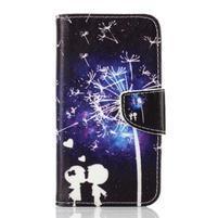 Rich PU kožené puzdro pre mobil Samsung Galaxy A3 (2016) - láska