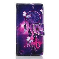 Rich PU kožené puzdro pre mobil Samsung Galaxy A3 (2016) - lapač snov