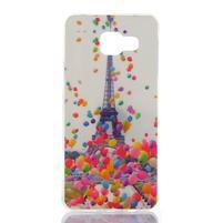 Softys gelový obal na mobil Samsung Galaxy A3 (2016) - Eiffelova věž