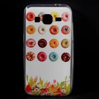 Ultratenký slim obal na Samsung Galaxy Core Prime - donuts
