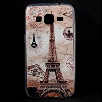 Ultratenký slim obal na Samsung Galaxy Core Prime - Eiffelova věž