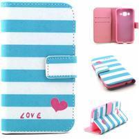Puzdro pre mobil Samsung Galaxy Core Prime - love