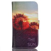 Emotive peňaženkové puzdro pre Samsung Galaxy Core Prime - východ slnka