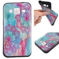 Hardy gélový obal pre mobil Samsung Galaxy Core Prime - henna
