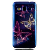 Bluray gelový obal s odlesky na Samsung Galaxy Core Prime - kouzelní motýlci