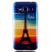 Bluray gélový obal s odlesky pre Samsung Galaxy Core Prime - Eiffelova veža