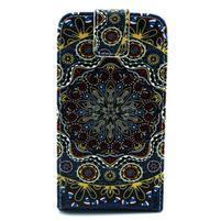 Flipové puzdro pre mobil Samsung Galaxy Core Prime - mandala