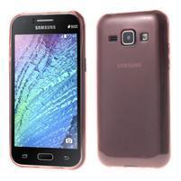 Ultra tenký obal pre Samsung Galaxy J1 - ružový