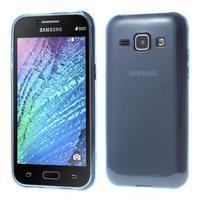 Ultra tenký obal pre Samsung Galaxy J1 - tmavo modrý