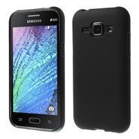 Čierny matný kryt pre Samsung Galaxy J1