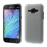 Transparentný matný kryt pre Samsung Galaxy J1