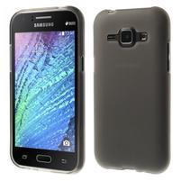 Šedý matný kryt pre Samsung Galaxy J1